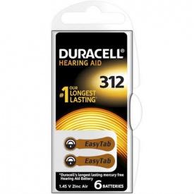 Батарейки слухові DURACELL HA 312 1 шт