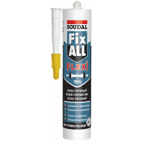 Клей герметик SOUDAL FIX ALL белый 290 мл