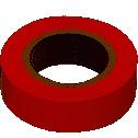 Ізоляційна стрічка 0.18х19 мм 20 м червона IEK
