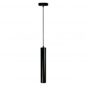Светильник подвесной Трубка NL 3522 GL MSK Electric черный глянец