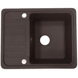 Кухонна мийка Adamant SMALL 570х455х180, з сифоном, 05 коричневий