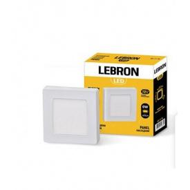 LED світильник LEBRON L-PSS-641 6W накладний 4100K з блоком живлення