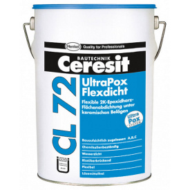 CERESIT CL-72 UltraPox FlexPrimer Епоксидна гідроізоляційна суміш 2к 10 кг