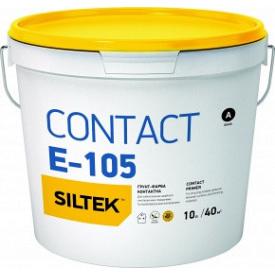 SILTEK Е-105 10 л Грунт-краска Contact база ЕА