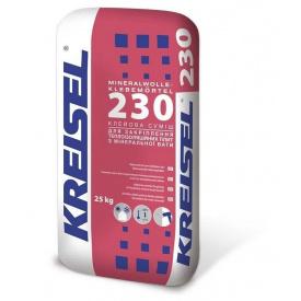 Клей для приклеювання мінераловатних плит Kreisel Mineralwolle-Klebemörtel 230, 25 кг