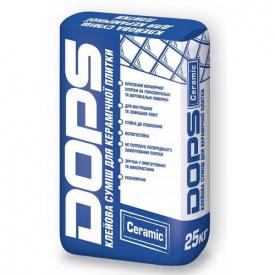 Клеевая смесь для плитки стандартная Dops ceramiс