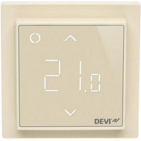 Сенсорный Wi-fi программируемый регулятор для теплого пола DEVIreg Smart /слоновая кость