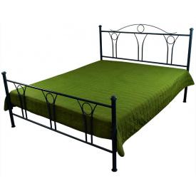 Декоративне покривало стьобане Зелене Руно 150x215 см