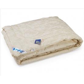 Одеяло шерстяное Руно Комфорт плюс двуспальное молочное 172x205 см