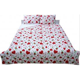 Комплект постельного белья Руно бязь Валентинка двуспальный