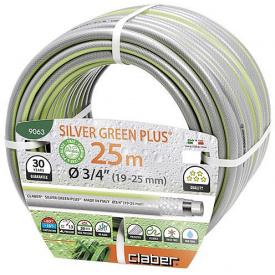 "Шланг для поливу Claber Silver Green Plus 3/4"" 25м (90630000)"