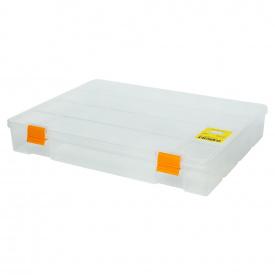 Органайзер пластиковий Sigma прозорий 324х247х51мм (7418051)
