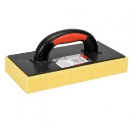 Терка пластиковая YATO для смывания керамической плитки с губкой 40мм 270x130мм (YT-51903)