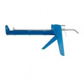 Пистолет для силикона напивтрубовидний VOREL 230мм (09100)
