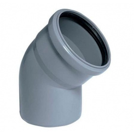 Колено внутренней канализации Profil 75/67