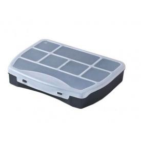 Органайзер пластиковый HAISSER Domino 19 с фиксированными секциями 190x155x37мм (90828)