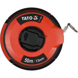 Рулетка YATO стальная 50мx13мм (YT-71582)
