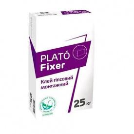 Клей для гипсокартона PLATO Fixer 25кг