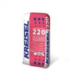 Клеевая смесь для систем утепл с исп. ППС армирующая Kreisel 220 25кг