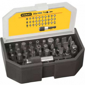 Набор бит STANLEY Expert, Torx, Philips, Pozidriv, 25 мм, 31 шт, пластиковая коробка (1-13-903)