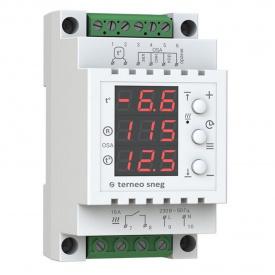 Терморегулятор Terneo Sneg R10 / Термостат Тернео Снег Р10 для снеготаяния