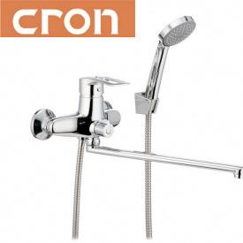 Смеситель для ванны длинный нос Cron Hansberg EURO (Chr-006)