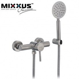 Смеситель для душкабины Mixxus Sus (Chr-003), Польша (нержавеющая сталь)