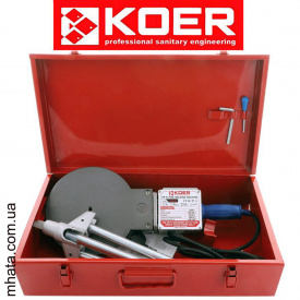 Паяльник для полипропиленовой трубы KOER SET-05 (2400Вт, без насадок)