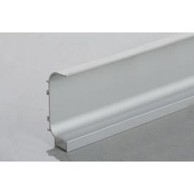 Профиль C образный для фасадов без ручек (ФБР) с пазом под LED-подсветку 5950 мм алюминий