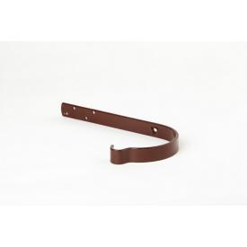 Крюк желоба Plannja 125 коричневый