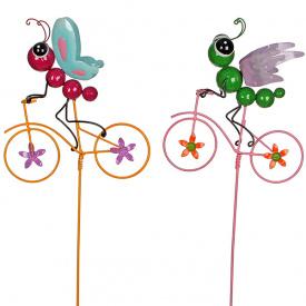 Набір садових фігурок Метелик і бабка Greenware