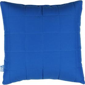 Подушка декоративна Руно синя 40x40 см