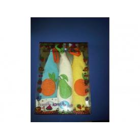 Набор кухонных полотенец Arya Lares Soft 48x48 см 3 шт