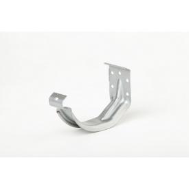 Компактный крюк желоба Plannja 125 серебряный
