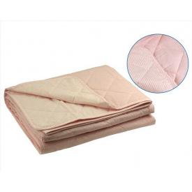 Одеяло xлопковое Руно евро двуспальное розовое 200x220 см