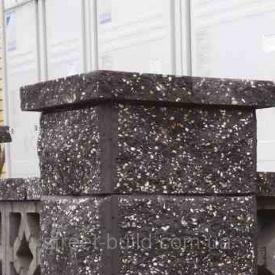 Крышки декоративные на забор 450x225 Золотой Мандарин серый