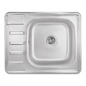 Кухонная мойка Lidz 6350 0,8 мм Micro Decor (LIDZ6350MDEC)