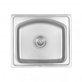 Кухонная мойка Qtap 4842 0,8 мм Micro Decor (QT4842MICDEC08)