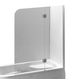 Шторка на ванну 120x150 см правая профиля хром EGER 599-120CH/R