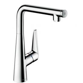 Talis Select S Смеситель для кухни однорычажный с кнопкой управления цв нержавеющая сталь HANSGROHE 72820800