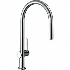 TALIS M54 смеситель для кухни однорычажный 210 с вытяжным душем 2jеt sBox хром HANSGROHE 72801000