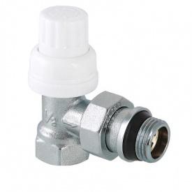Клапан термостатичний кутовий з додатковим ущільненням 1/2 Valtec VT.031.NR.04