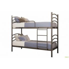 Ліжко Маргарита 2 яруси 90х200 + вклад ДВП Метал-Дизайн