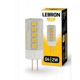 LED лампа Lebron L-G4 3W G4 4500K 280Lm кут 360°