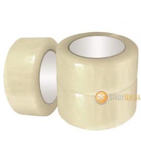 (36006) Клейкая лента упаковочная прозрачная 48 мм 100 м