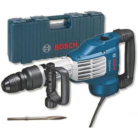 Отбойный молоток Bosch Professional GSH 11 VC в чемодане с пикоподобным зубилом