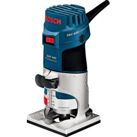 Фрезер кромковий Bosch Professional GKF 600 KIT