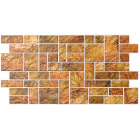 Камень ПВХ Регул Пиленный желтый 0,4х496х986 мм