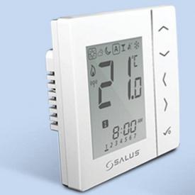 VS10WRF Беспроводной цифровой термостат для скрытой проводки 4 в 1