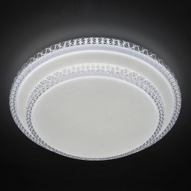 Светодиодная LED люстра с пультом SMART Kosmos 80w 500*90mm 3000-6000К 25кв/м